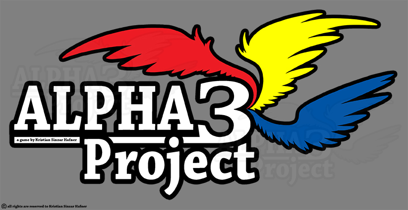 ALPHA3Project - Logo by GrimAngel666