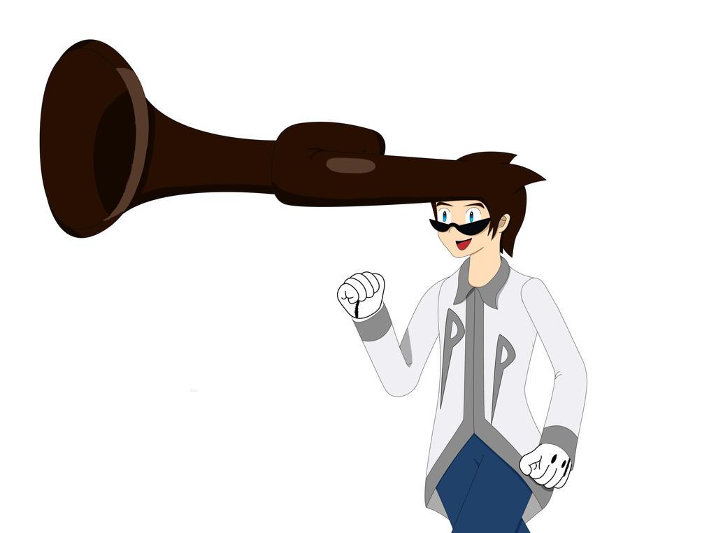 Keith hair horn by EthanTavitas