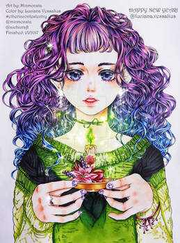Minmonsta Coloring Contest