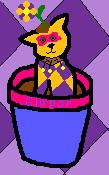 Clopar in a Flower Pot by LotusTwister