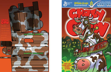 Crazy Cow Cereal design by Remnant1987