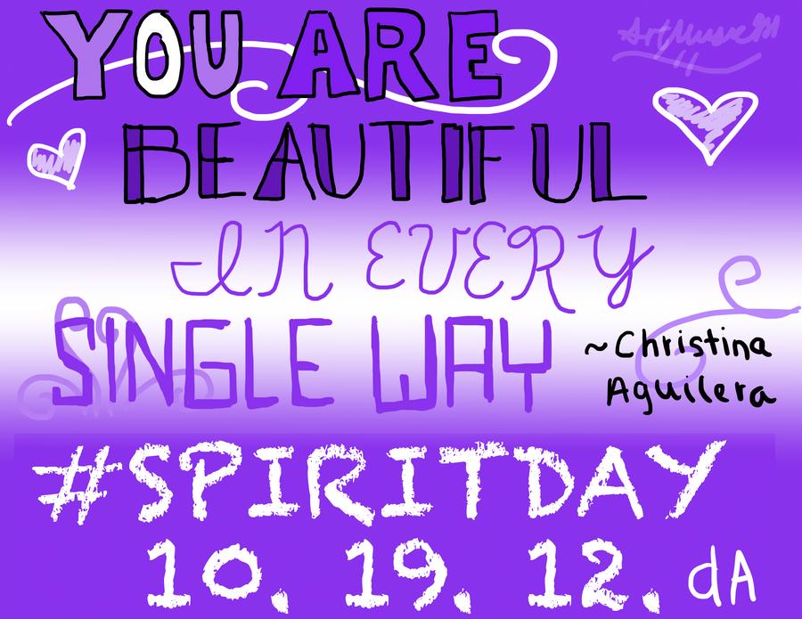 You Are Beautiful ~Christina Aguilera by artmusic981