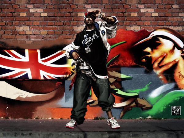 Graffiti Gangsta by srg11