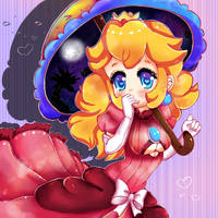 Peachy by HoshiGoredo