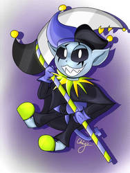 Jevil by little-cockatoo