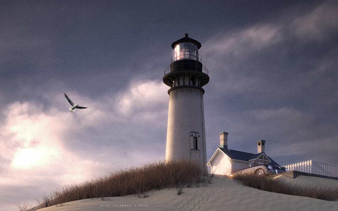 light house by graf-ics
