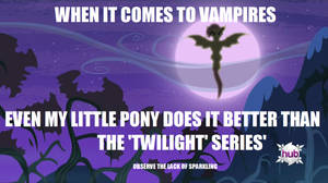 Our Vampires are Different (and Adorable!)