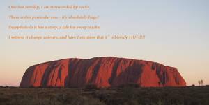 Uluru Rocks
