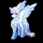 Snow Alicorn Queen Elsa