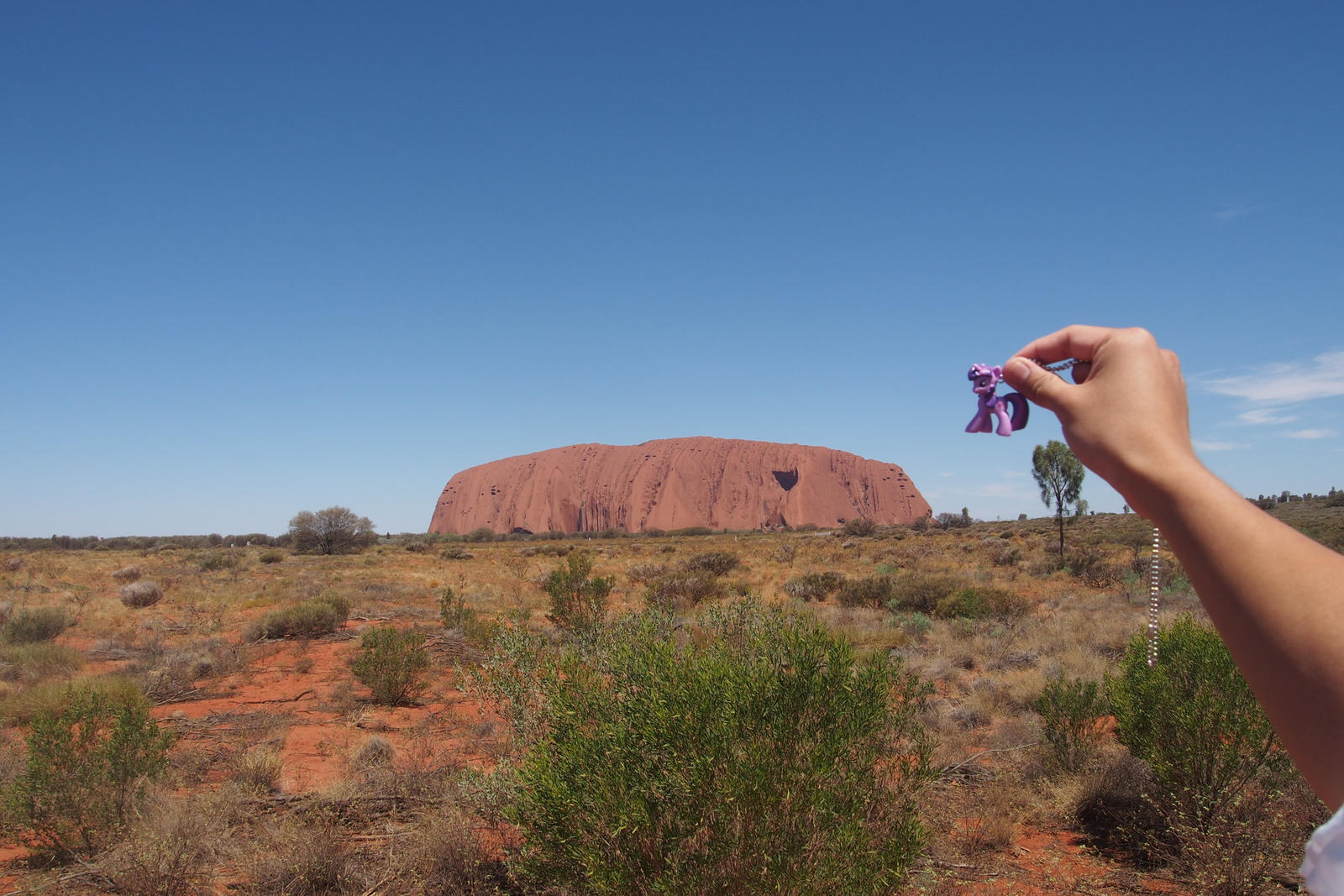 Twilight at Uluru