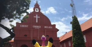Twilight at Christ Church Melaka