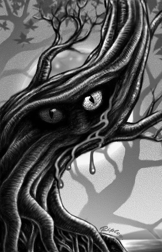 Bloody Tree by Mr-Ripley