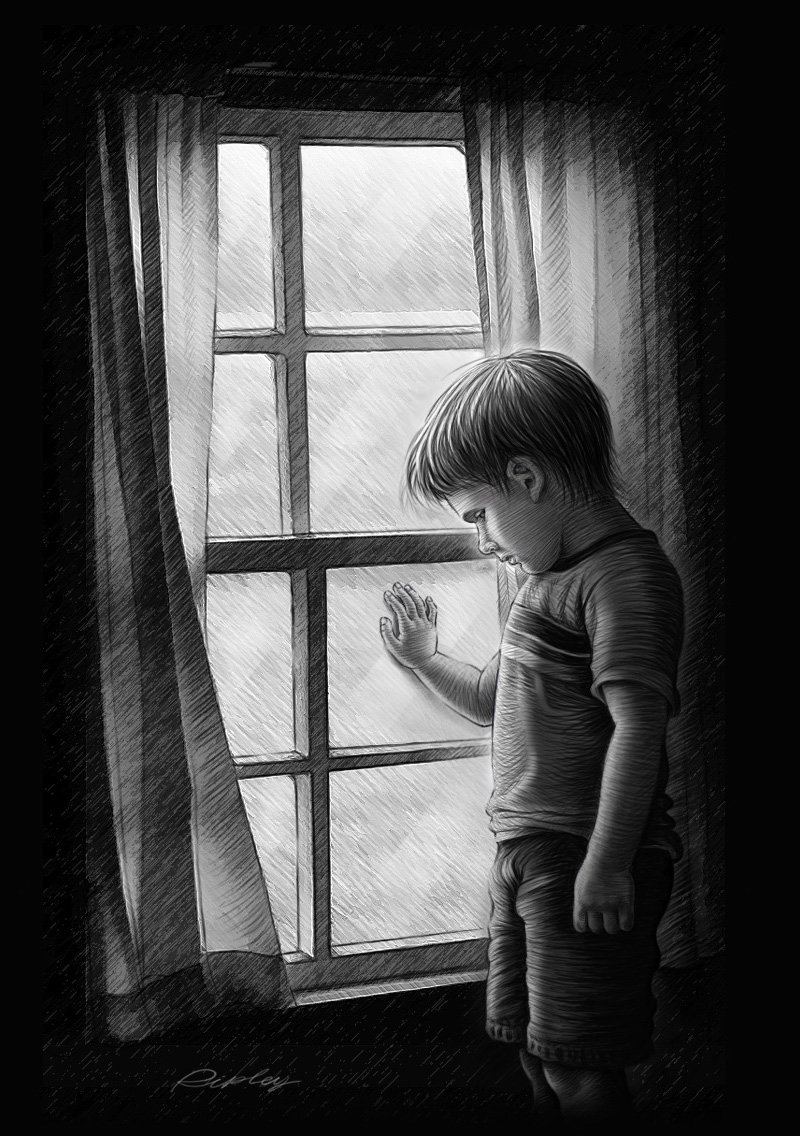 Lonely boy by mr ripley on deviantart