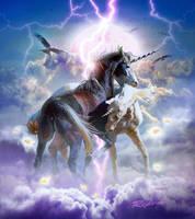 Unicorns in Love by Mr-Ripley