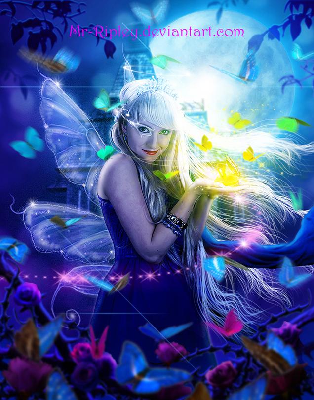 Lady Butterfly by Mr-Ripley