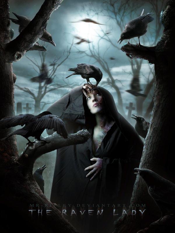 The Raven Lady