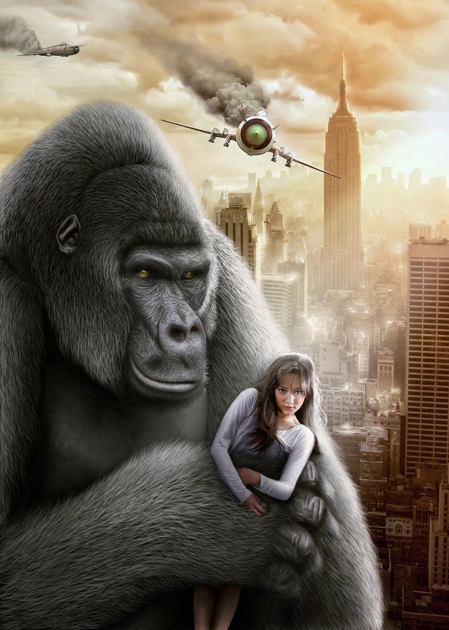 King Kong by Ahkam by Mr-Ripley