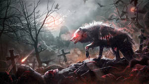 Night of the Zombie Wolf