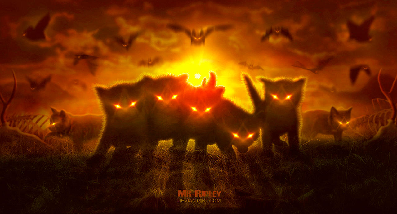 Nocturnal Hunters by Mr-Ripley