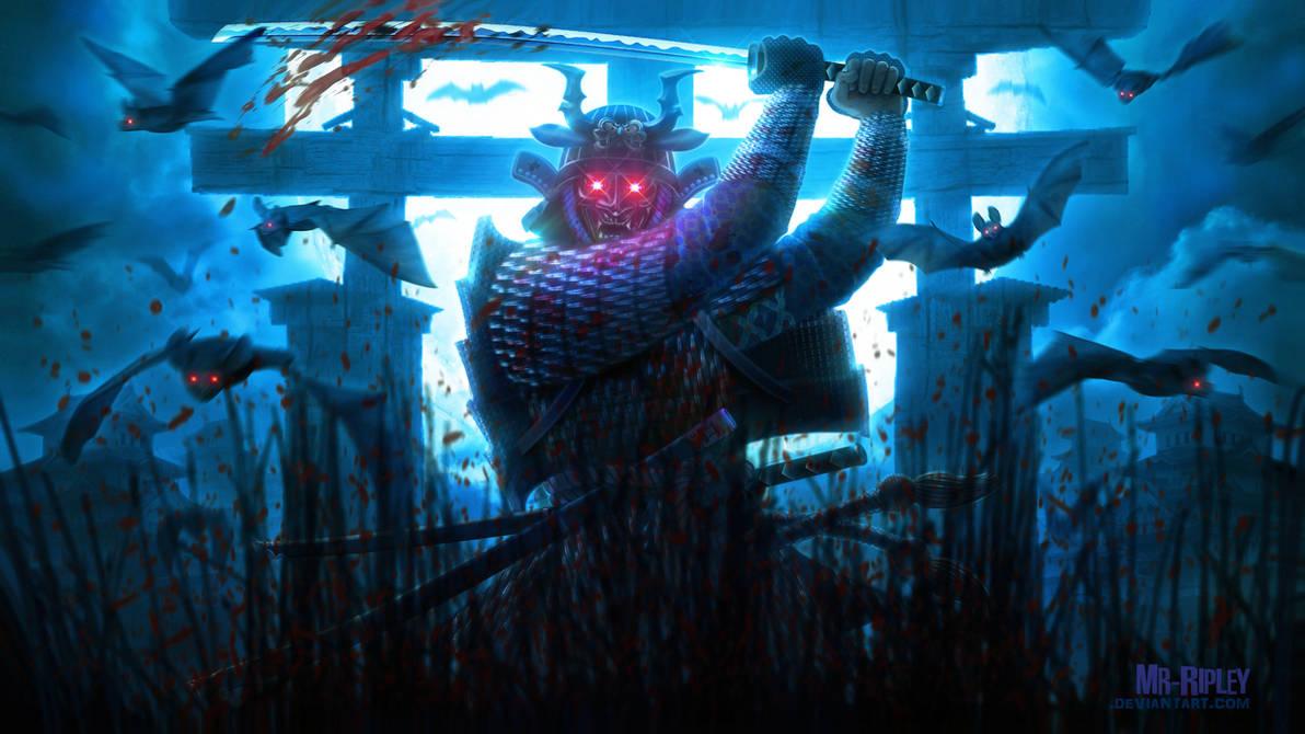 Demonic Samurai by Mr-Ripley