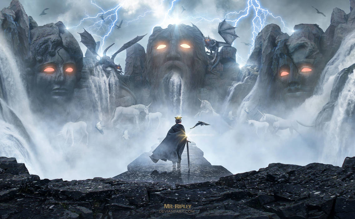 Forbidden Kingdom by Mr-Ripley