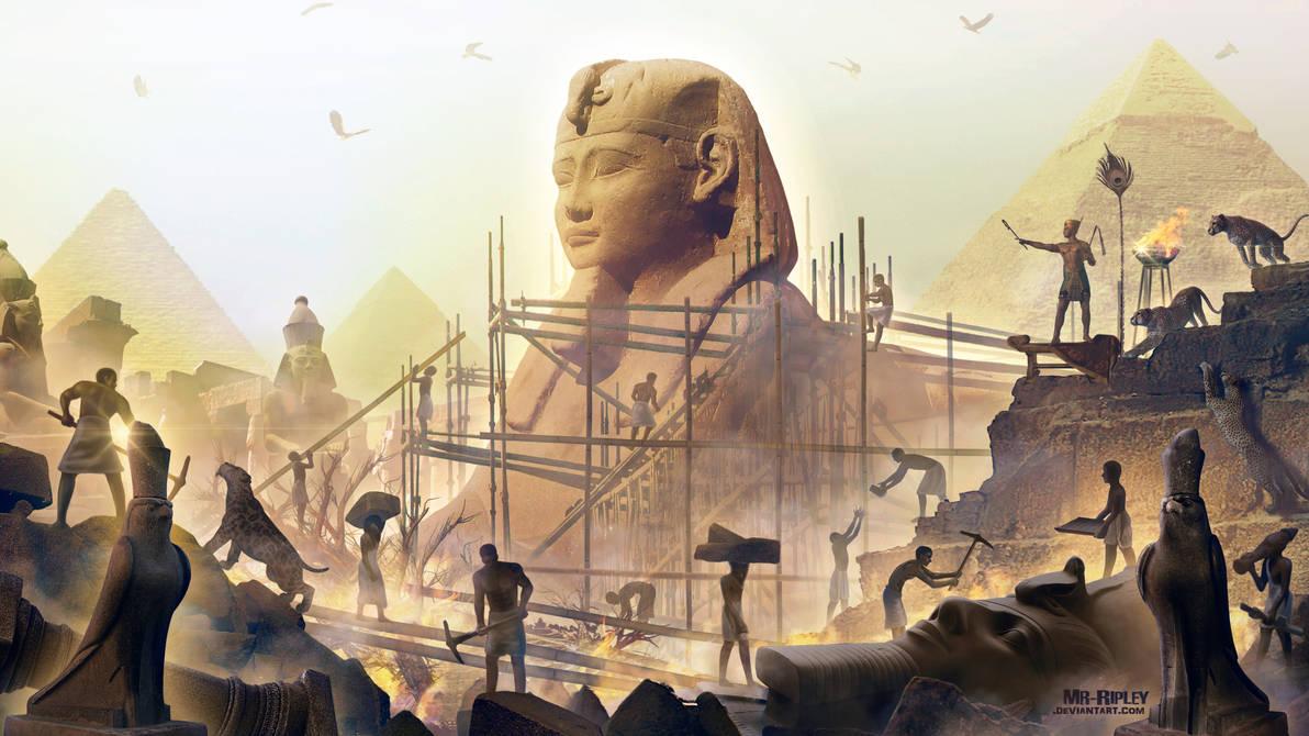 The Commandment of Pharaoh by Mr-Ripley