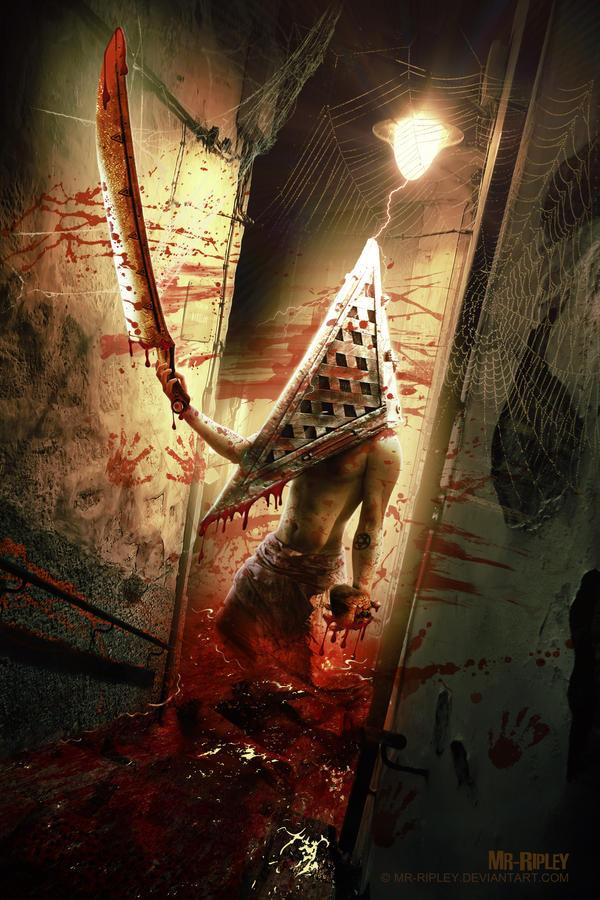 Pyramid Head by Mr-Ripley