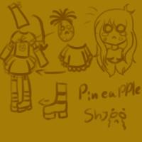Pineapple art by xXxSHIPPOxXx
