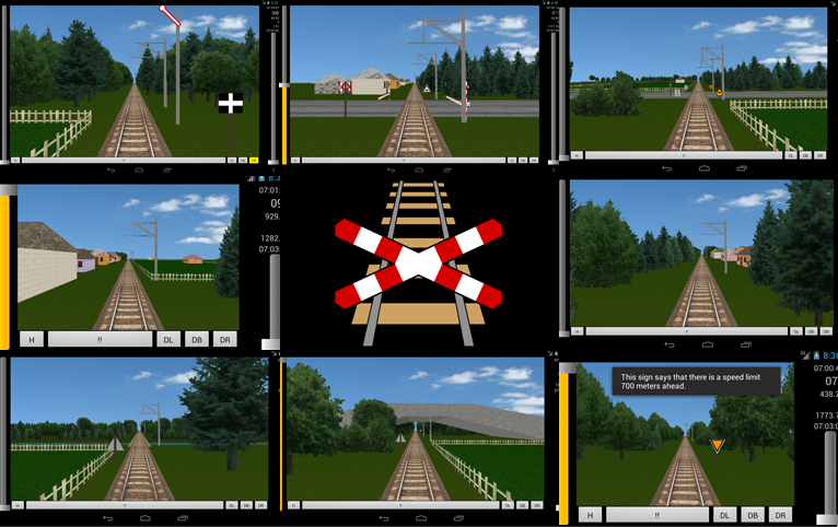 Train Driver - Game for Andoid by Jakhajay