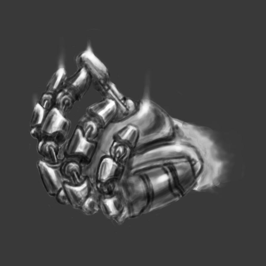 Rotwang's Hand Concpet 01 by LukeQuietus