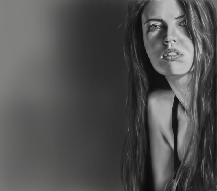Portrait of a Portrait by LukeQuietus