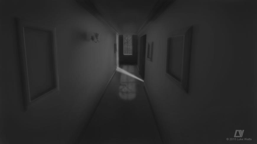 Chapter 01: Hallway 01 by LukeQuietus