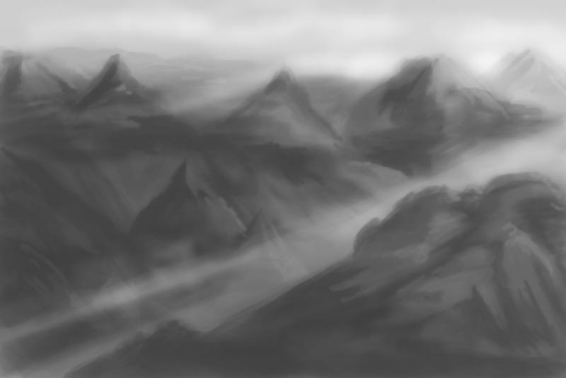 Landscape Practice (45mins) by LukeQuietus