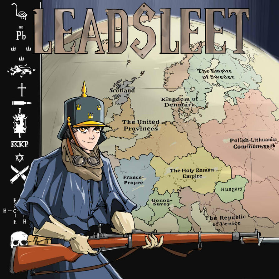 Leadsleet - Mini cover by Levskicomic