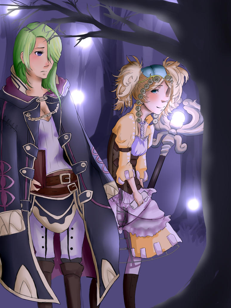 Robin and Lissa by Niza-ninja