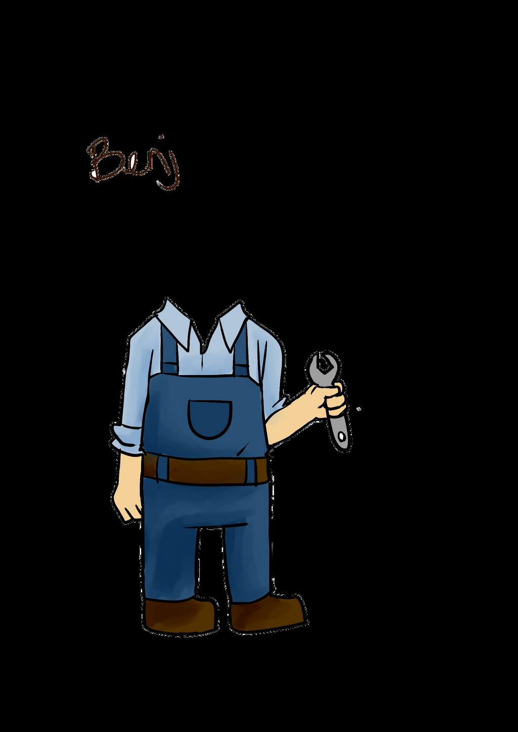 Aircraft mechanic by PotatoProject14