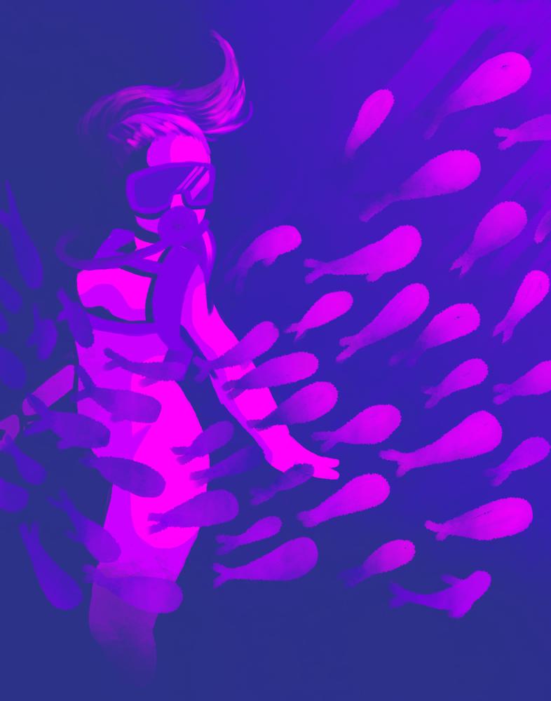 Palette 15: School of fish by xX-DragonFairy-Xx
