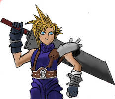 iScrib: Cloud Strife by Daowg