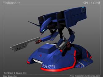 Einhander: SPJ-15 Greif by Daowg