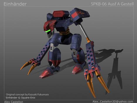 Einhander: SPKB-06 Ausf A Gestell