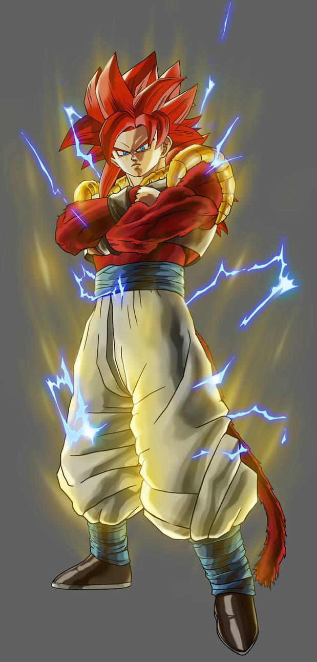 Dragon Ball Xenoverse Ss4 Gogeta By Goldliger On Deviantart