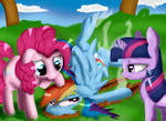 MLP: Crash Landing by Itarra