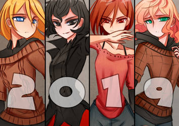 Happy New Year 2019 by Ayza-chan