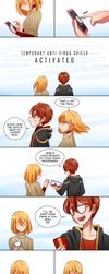 Mystic Messenger: Messenger Part 14 Page 1 by Ayza-chan