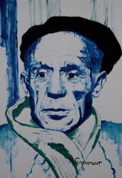 Pablo Picasso by Mclaramunt
