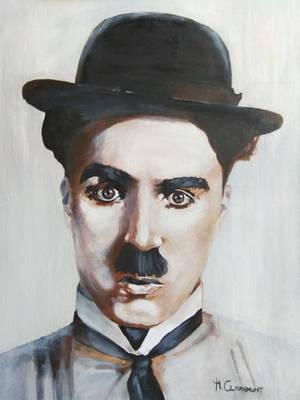 Charles Chaplin by Mclaramunt