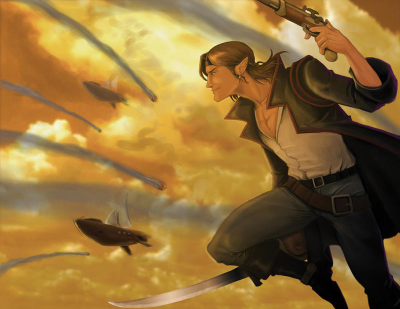 Sky Pirates of Valendor Calend by ZacBrito