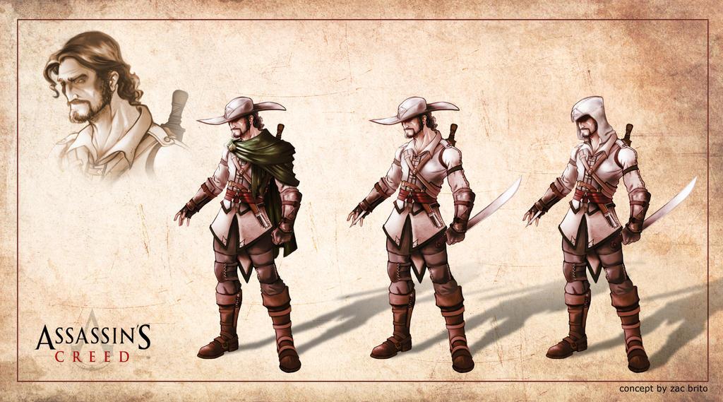 Assassin's Creed Brasil contest by ZacBrito