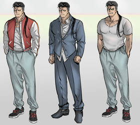Sweatpants Guy by aro-dynamic