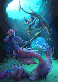 Merman Skirmish